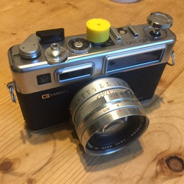 Adding manual shutter speeds to Yashica Electro 35 series cameras using Ardiuno