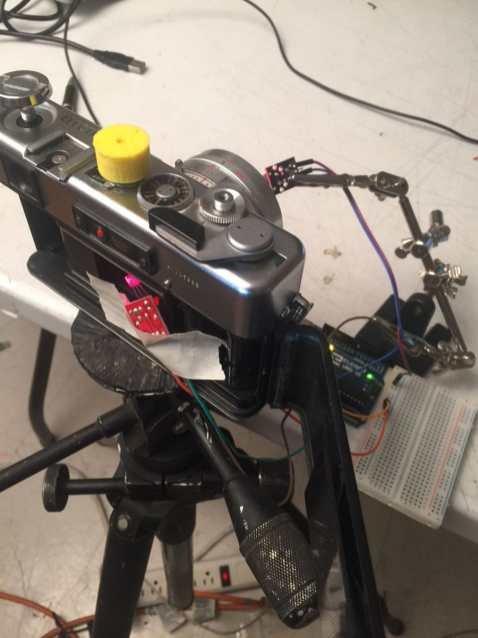 Arduino-shutter-tester-setup using Ardiuno