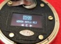 AN ARDUINO WRAPPED IN AN OLED WRAPPED INSIDE AN ENIGMA POCKET WATCH