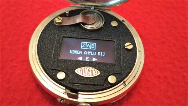 ENIGMA POCKET WATCH