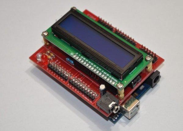 Arduino-E-Z-COMMS-Shield using Arduino