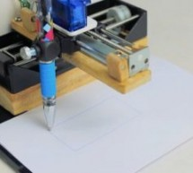 Mini Arduino DIY CNC drawing machine