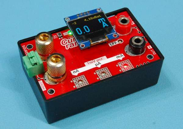 CurrentRanger – Auto-ranging current meter