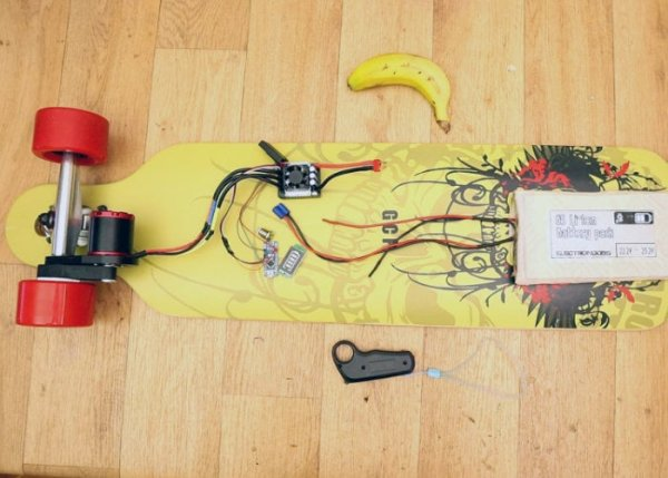 DIY-electric-longboard using Arduino