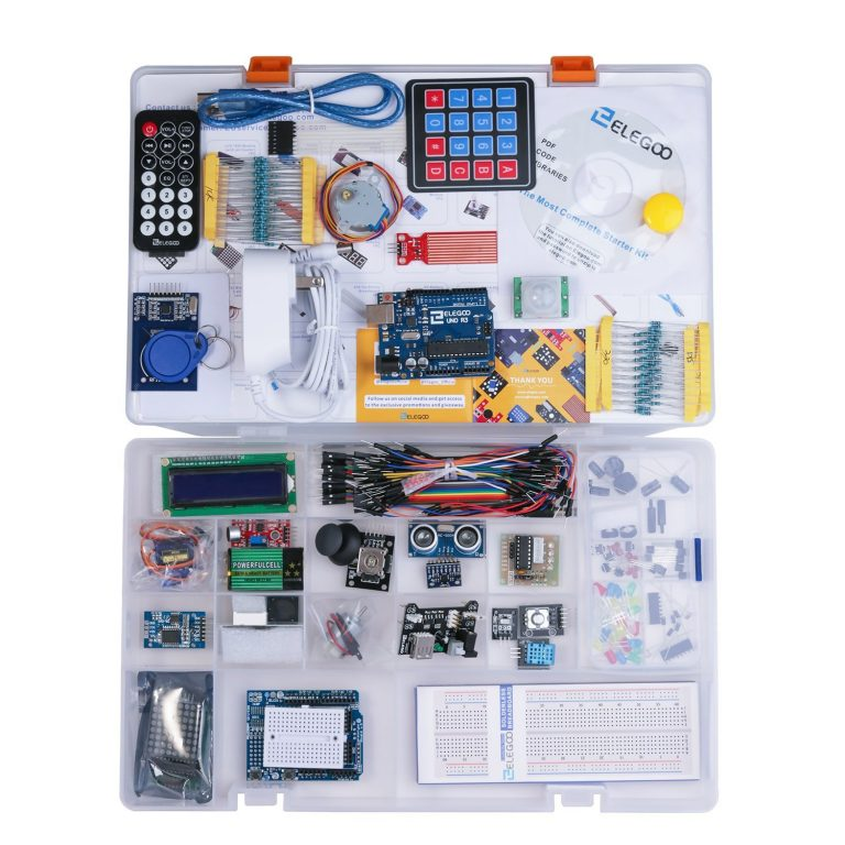 Elegoo Gift Guide Is for a Complete Arduino Starter Kit with 20% discount