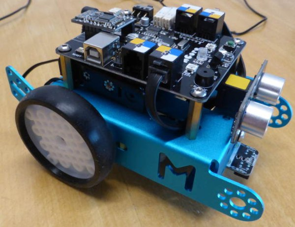 Guildford-Makerspace-makeBlock-Mbot using Pic-microcontroller