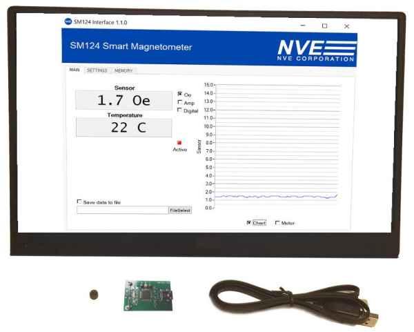 NVE Introduces Smart GMR Magnetometer