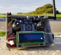Arduino 1,500m wireless remote control