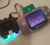 FPGA Brings Arduboy to the Game Boy Advance