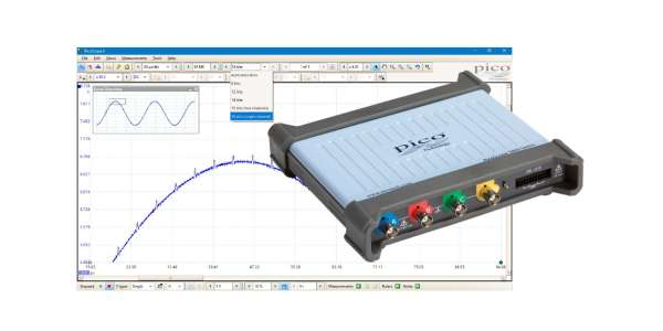 PicoScope® 5000 Series – Flexible Resolution USB Oscilloscope