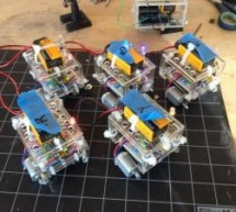 BristleSwarm: Explorations into Swarm Robotics