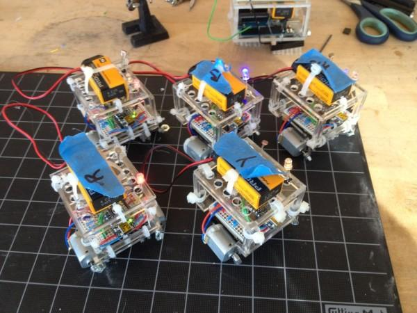 BristleSwarm Explorations into Swarm Robotics 2