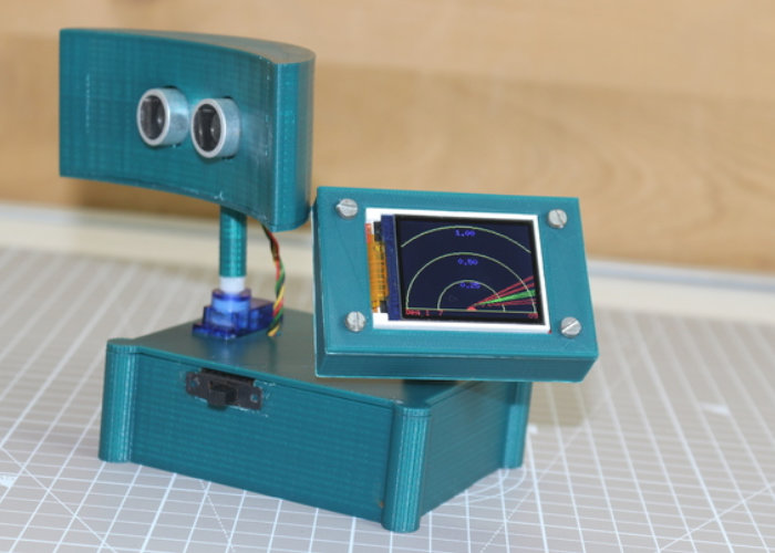DIY Arduino radar with display
