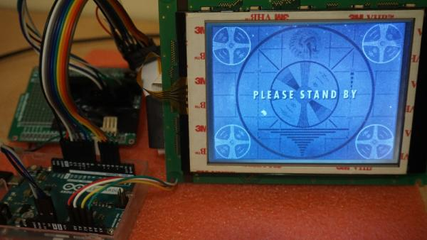 DRIVING A CONTROLLERLESS LCD WITH THE HUMBLE ARDUINO UNO