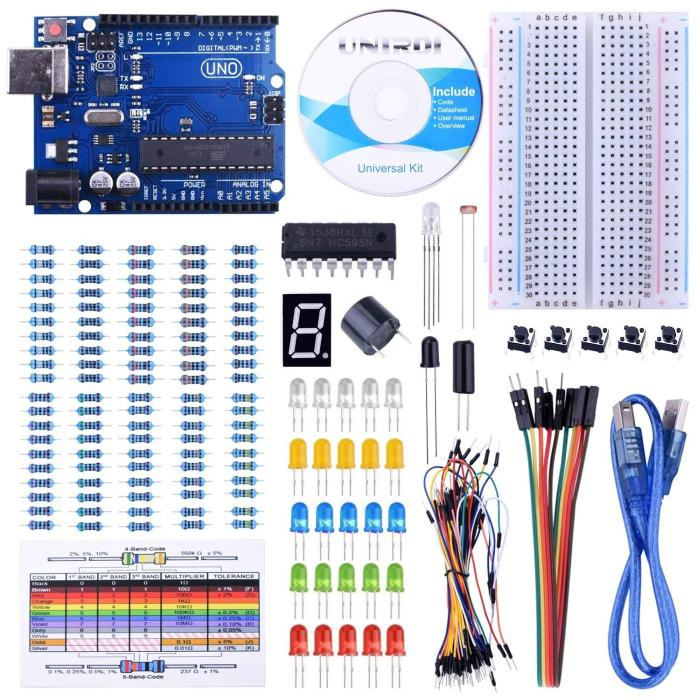 Excellent starter kit for people interested in learning about Arduino 2