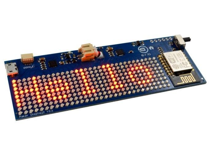 Internet connectable LED Matrix from $29