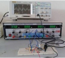 Sine wave oscillator using LM741