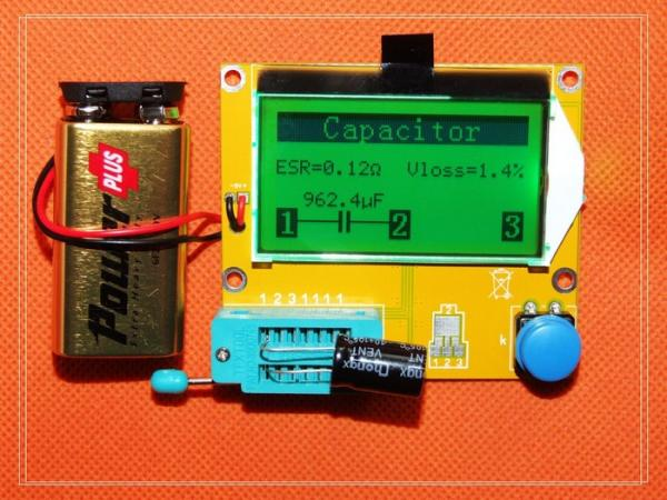 TOOLS FOR THE ELECTRONICS HOBBYIST PART 1- GRAPHICAL COMPONENTS TESTER 2