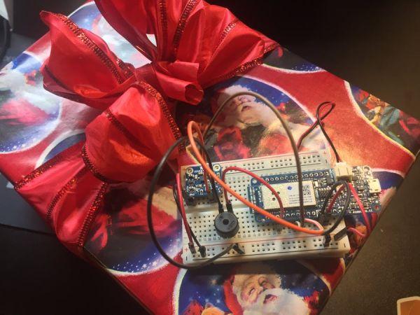 Christmas Presents Intruder Detector