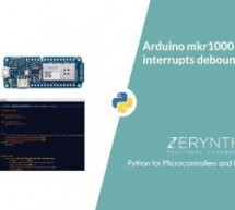 Interrupts Debouncing with Zerynth (Python for IoT)