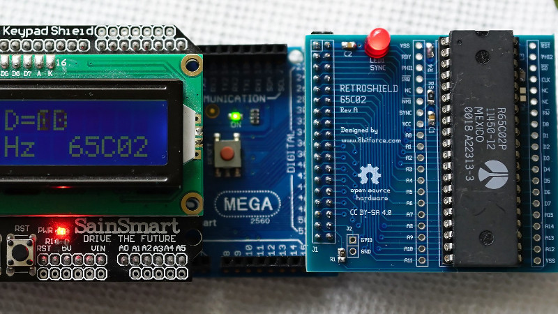 ADD A HOST OF 8-BIT PROCESSORS TO YOUR ARDUINO