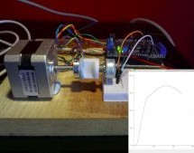 CHARACTERISING A POTENTIOMETER WITH A STEPPER MOTOR