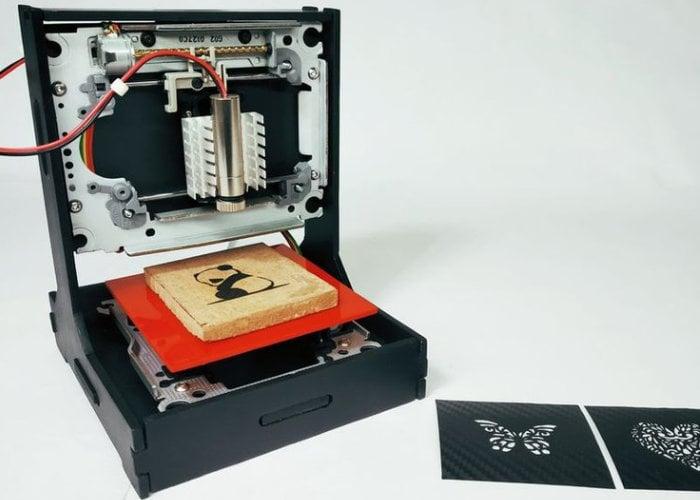 DIY Arduino mini laser engraver from a DVD player