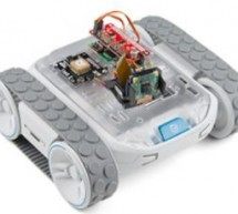RPi Zero W based robot kits offer pan-tilt cam, GPS, and ToF sensing