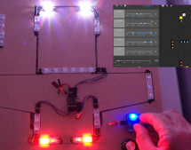 A CHROME EXTENSION FOR CONFIGURING RGB LEDS
