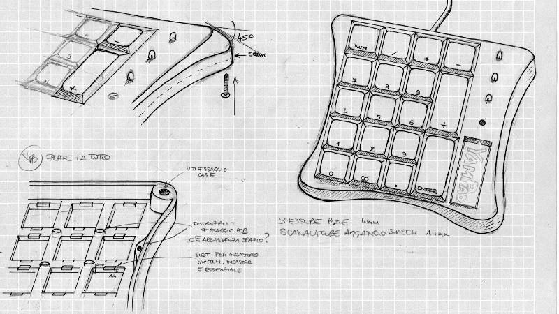 a customizable open source mechanical numpad