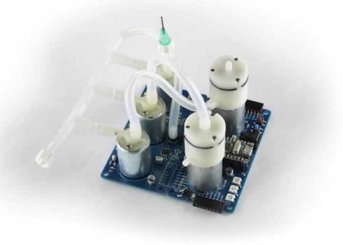 Programmable-Air Arduino pneumatics kit