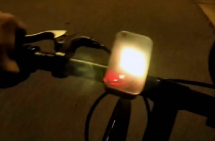 THIS GPS SPEEDOMETER HANGS OFF YOUR HANDLEBARS