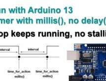 Arduino Timer Millis