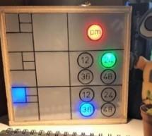 Arduino Fibonacci clock