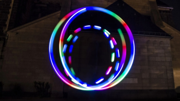 BUILD YOUR OWN LED GLOW POI