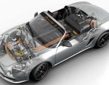 Teenager converts Porsche Boxster to electric drivetrain