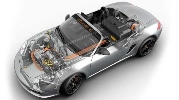 Teenager converts Porsche Boxster to electric drivetrain