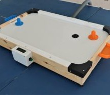 AIR HOCKEY TABLE IS A BREEZE TO BUILD