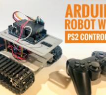 ARDUINO BOT ROCKS A PS2 CONTROLLER