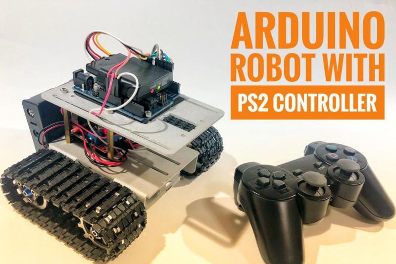 ARDUINO-BOT-ROCKS-A-PS2-CONTROLLER