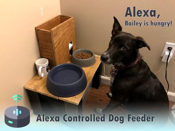 Alexa-Controlled-Dog-Feeder