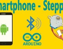 Arduino : How to Control Stepper Motor Via Bluetooth (with Smartphone)
