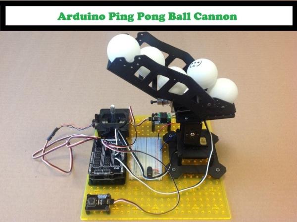 Arduino-Ping-Pong-Ball-Cannon