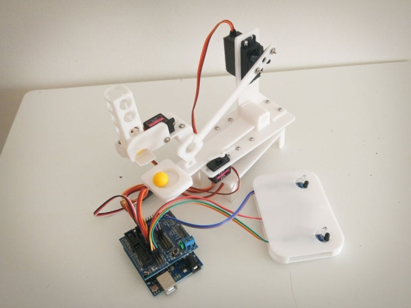 Arduino-Robot-Catapult