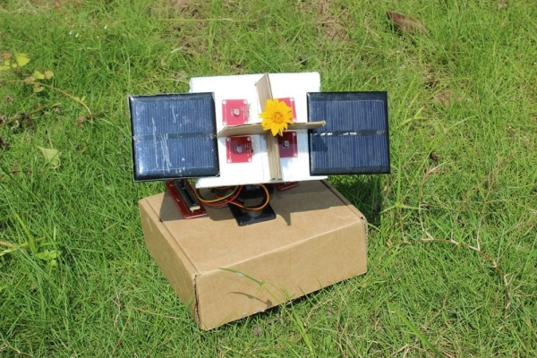 Arduino Sunflower - an Electronic Sundancer