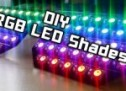 DIY | RGB LED Shades Controlled by Arduino