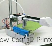 Edge 3D Printer 1.0 – an Affordable Open Source 3D Printer!