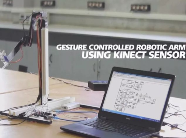 Gesture-Controlled-Robotic-Arm-Using-Kinect-Arduino
