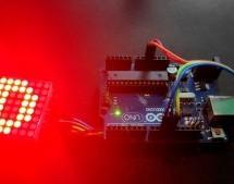 MAX7219 LED Dot Matrix Assembly and Testing