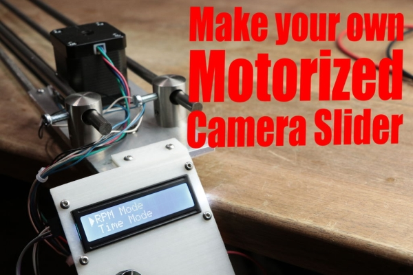Make-Your-Own-Motorized-Camera-Slider